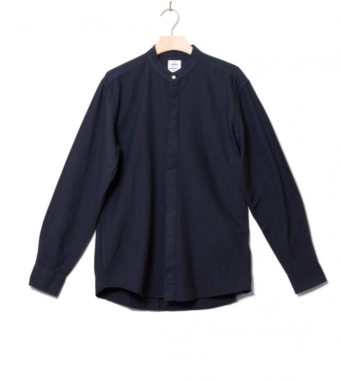 Klitmoller Collective Klitmoller Shirt Simon blue navy
