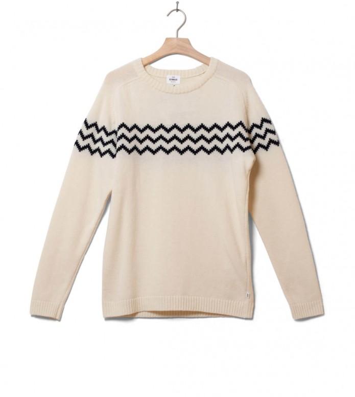 Klitmoller Collective Klitmoller Knit Toke beige cream/navy