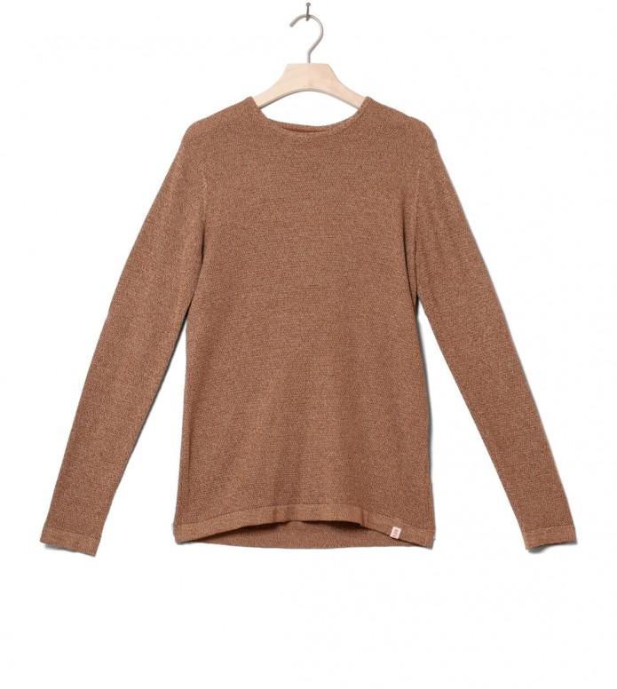 Revolution Knit Pullover 6005 brown S