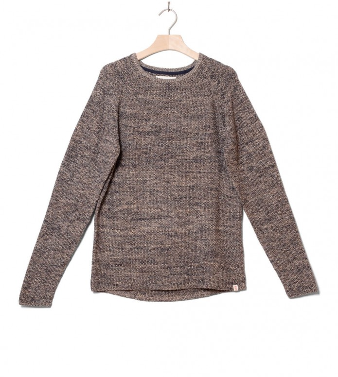 Revolution Knit Pullover 6011 blue khaki S