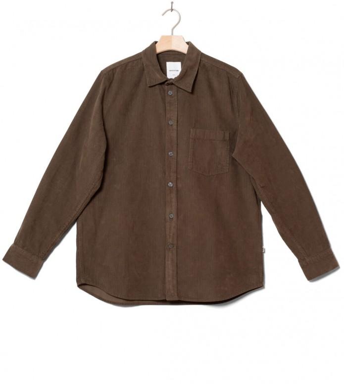 Wood Wood Shirt Aske green dark S