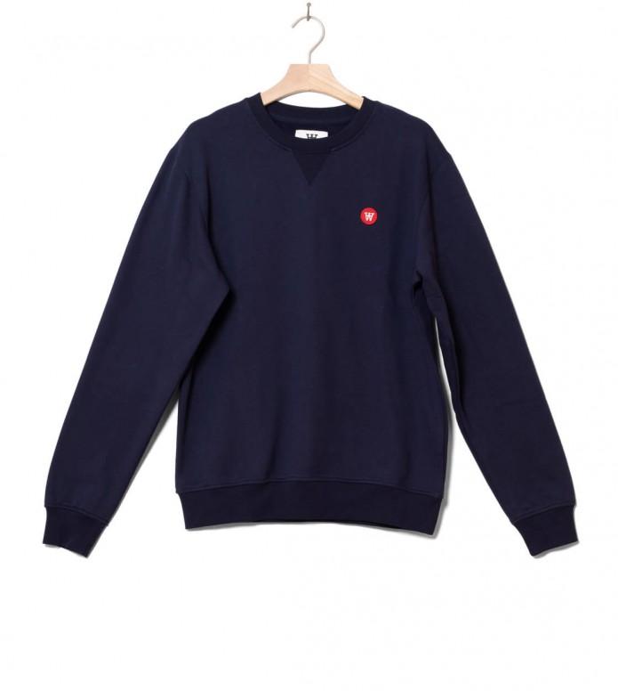 Wood Wood Sweater Tye blue navy S
