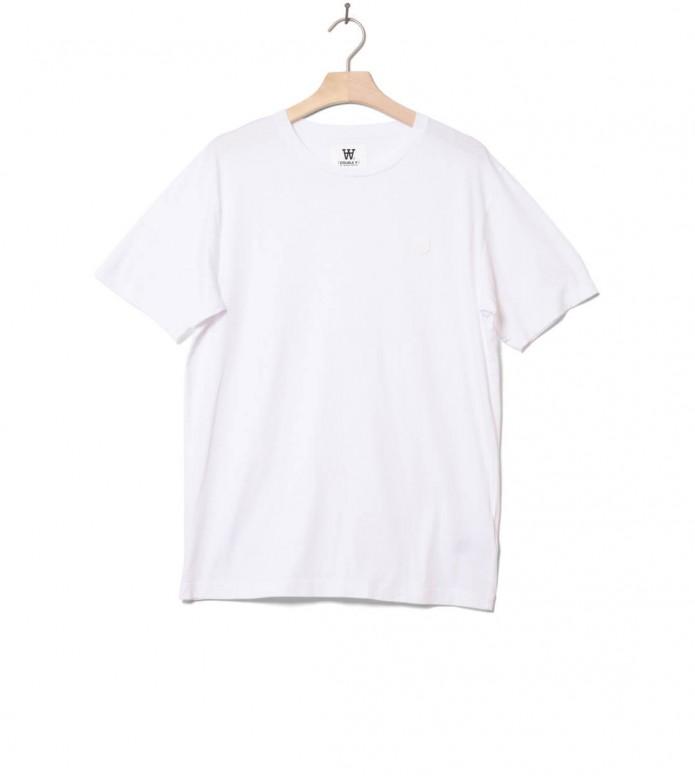 Wood Wood T-Shirt Ace white/white S