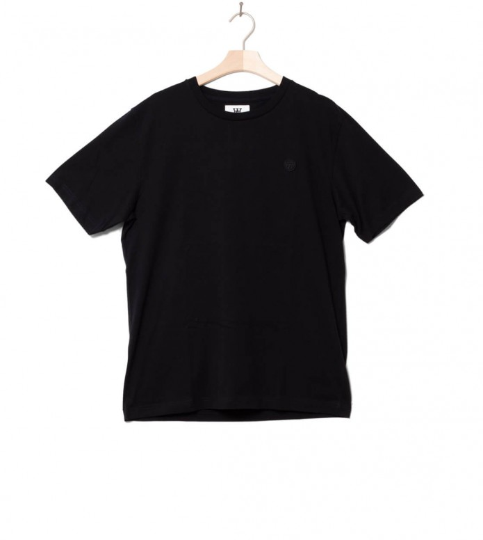 Wood Wood Wood Wood T-Shirt Ace black/black