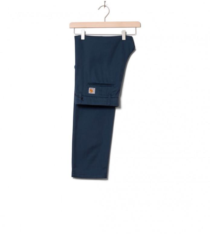 Carhartt WIP Pants Sid Lycra blue admiral rinsed 30/32
