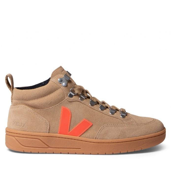 Veja Veja W Shoes Roraima Suede beige desert orange fluo