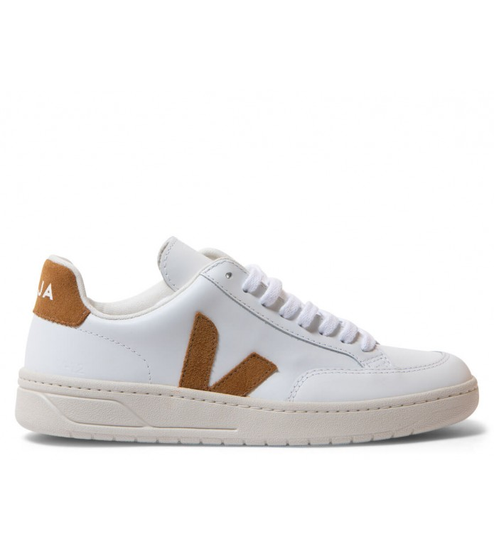 Veja Veja W Shoes V-12 Leather white extra camel