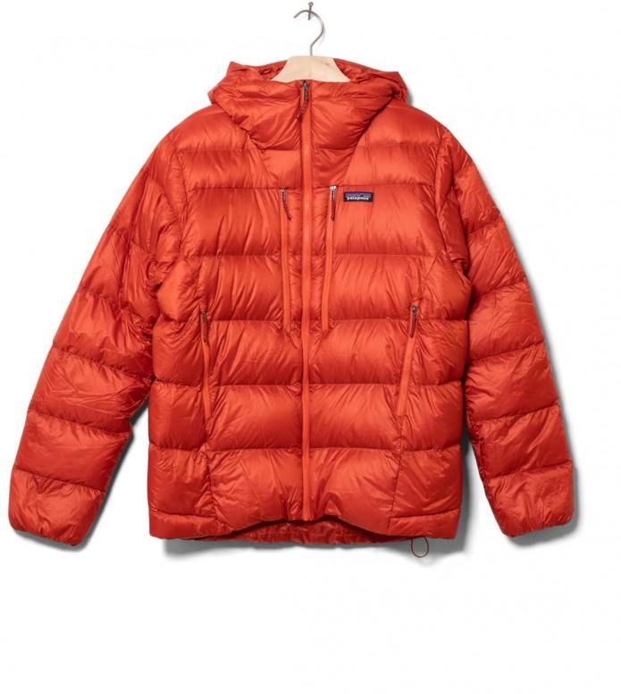 Patagonia Patagonia Winterjacket Fitz Roy Down red hot ember