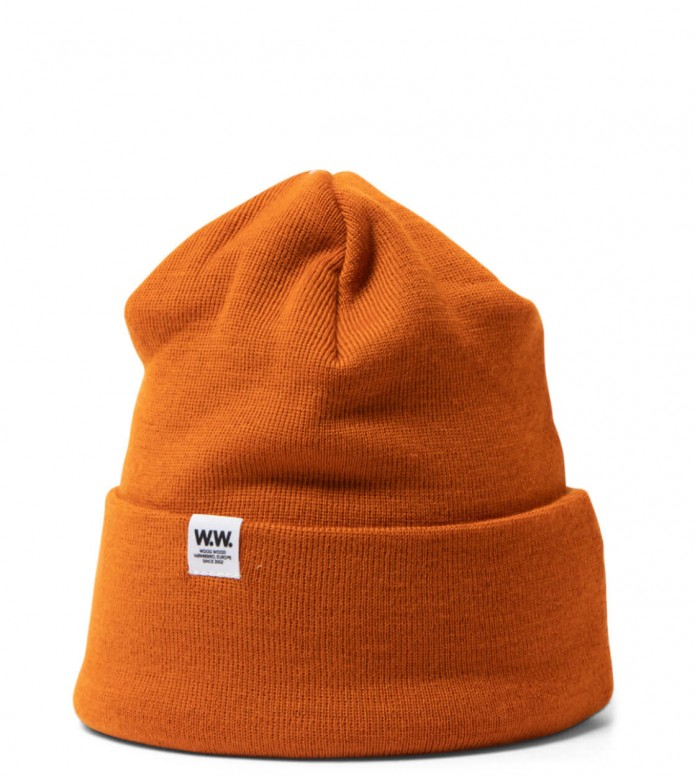 Wood Wood Beanie Gerald Tall orange one size