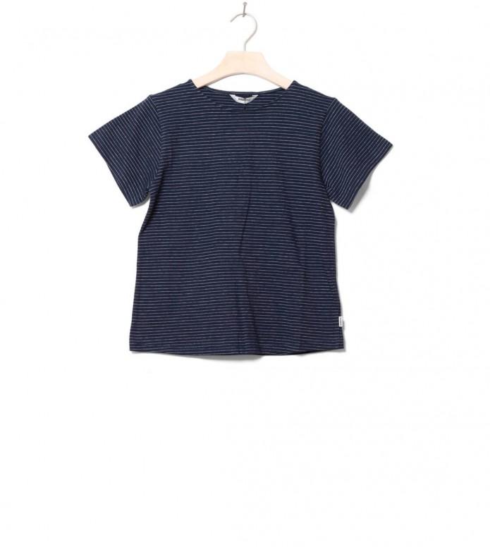 Wemoto Wemoto W T-Shirt Lucie blue navy-white