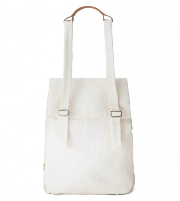 Qwstion Qwstion Bag Flap Tote Small white natural
