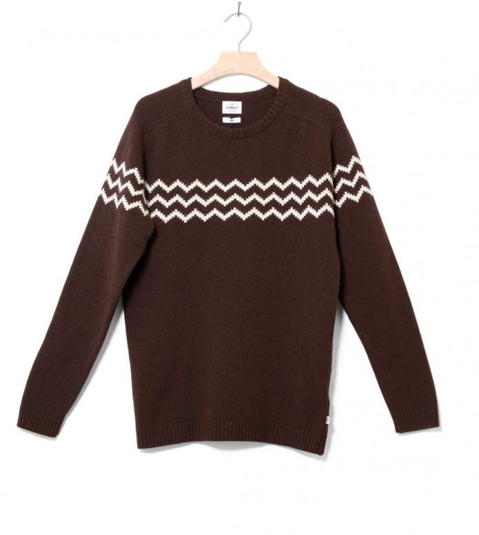 Klitmoller Collective Klitmoller Knit Toke brown earth/cream