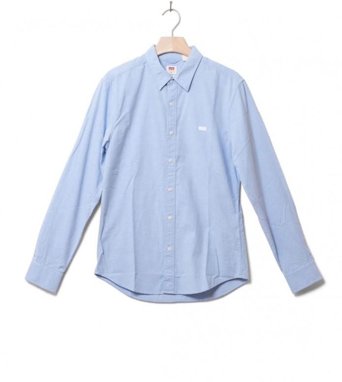 Levis Shirt Battery Hm Slim blue allure S
