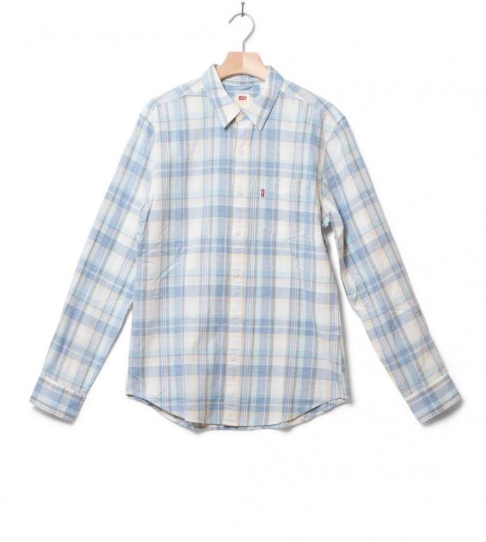 Levis Levis Shirt Sunset 1 Pocket blue nigel star