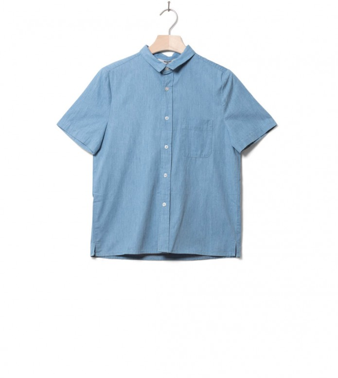 Wemoto Wemoto W Shirt Tippy blue light denim