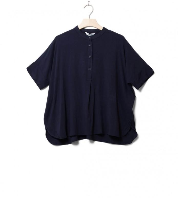 Wemoto W Shirt Polly blue navy XS