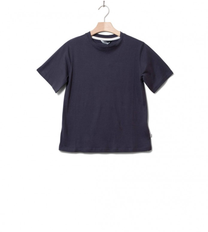 Wemoto W T-Shirt Bleu black XS