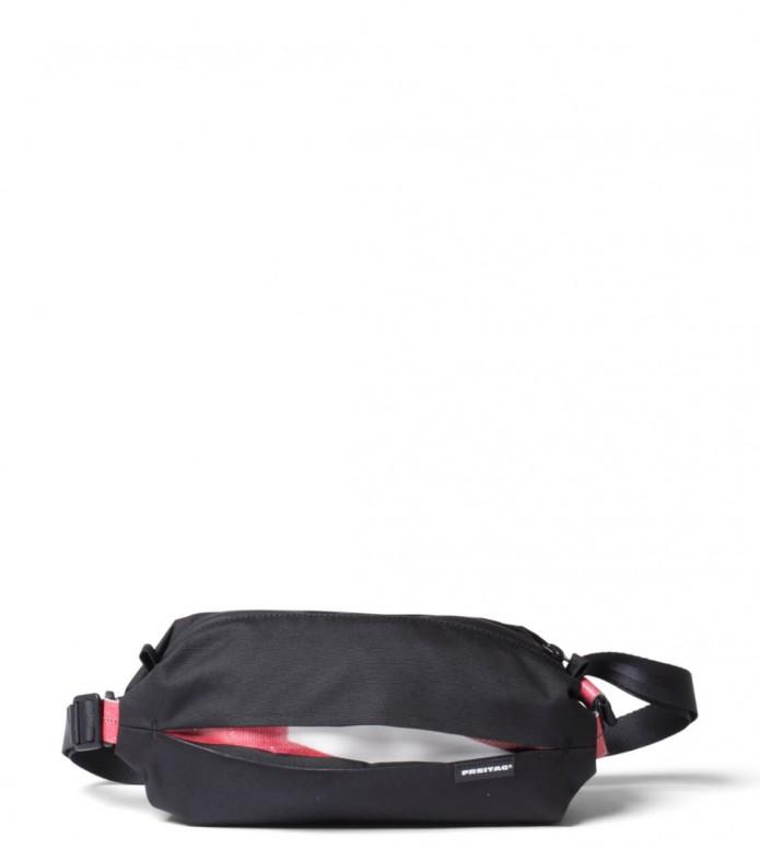 Freitag Freitag ToP Hip Bag Phelps black/red/white