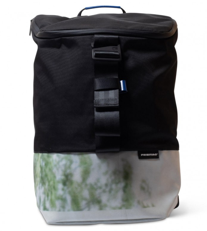 Freitag Freitag ToP Backpack Carter black/grey/green