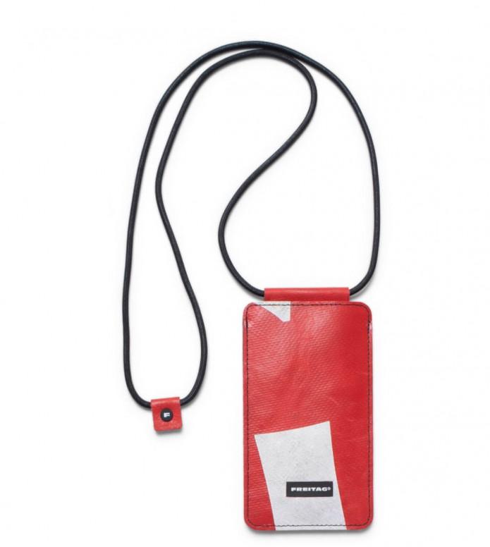 Freitag Freitag Myphone Pouch Robin red/white