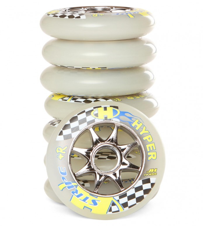 Hyper Wheels Stripe +R 8 Stk. 100mm/85A