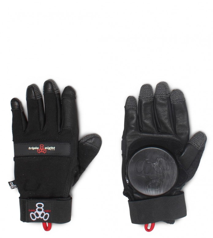 Triple 8 Glove The Downhill black L/LX