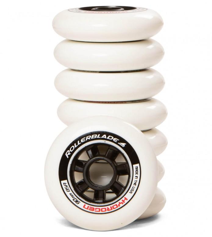 Rollerblade Wheels Hydrogen white 90mm/85A