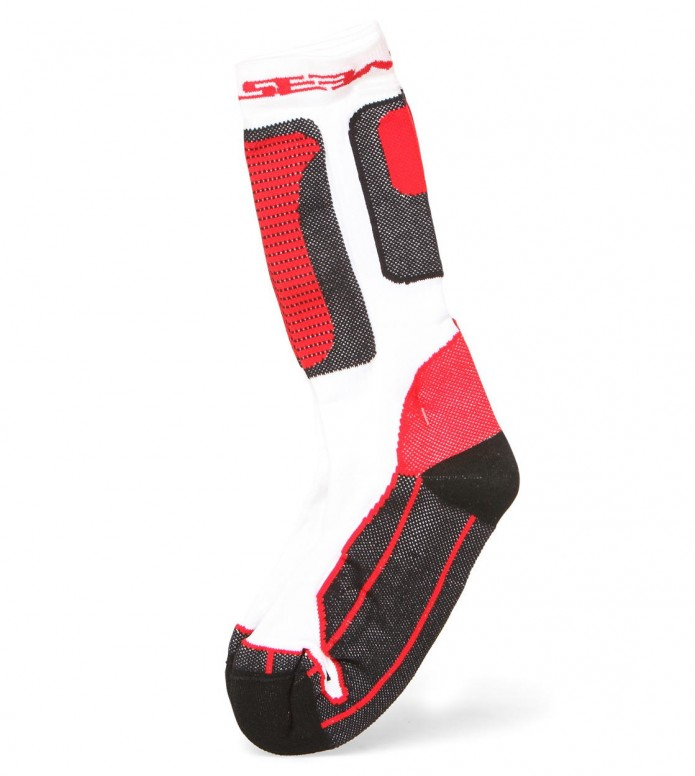 Seba Socks Nano Technology white/red 46-48