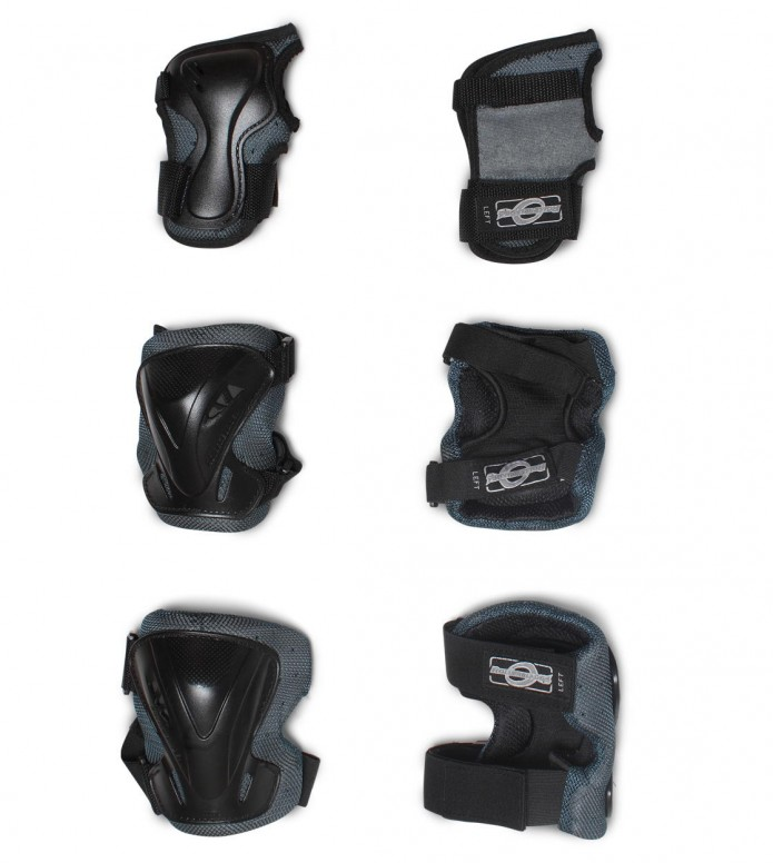 Rollerblade Pro 3 Pack black/anthracite XL