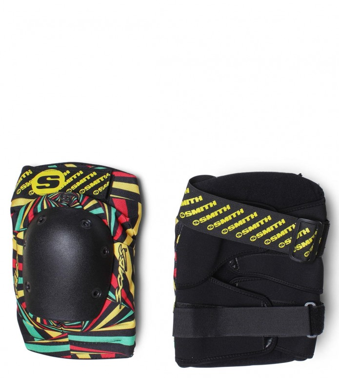 Smith Kneepads Scabs Elite black rasta XS