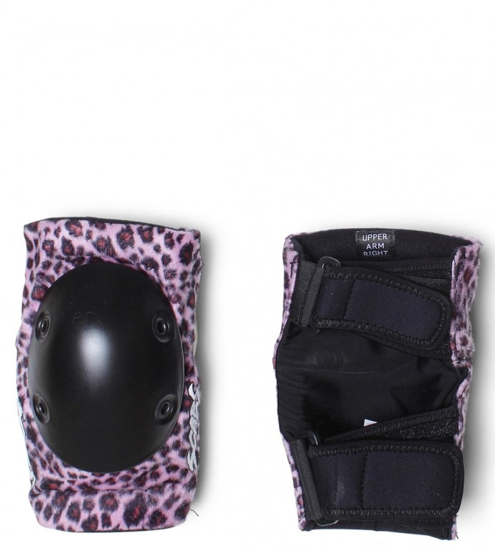Smith Elbow Pads pink leopard XS
