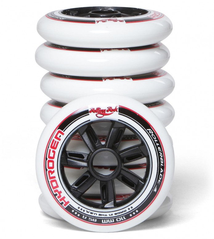 Rolling Rock Wheels Hydrogen white 110mm/85A