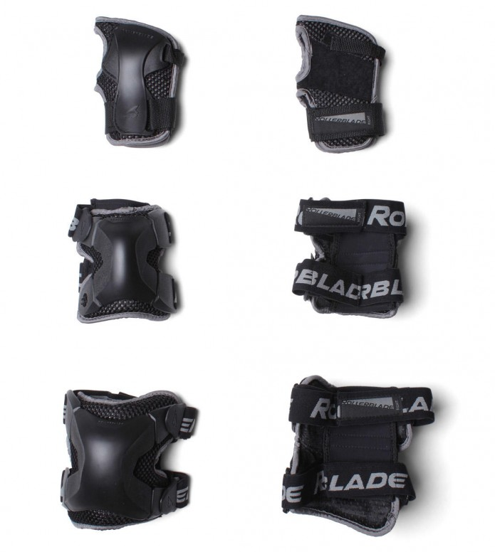Rollerblade Protection X-Gear 3 Pack black L