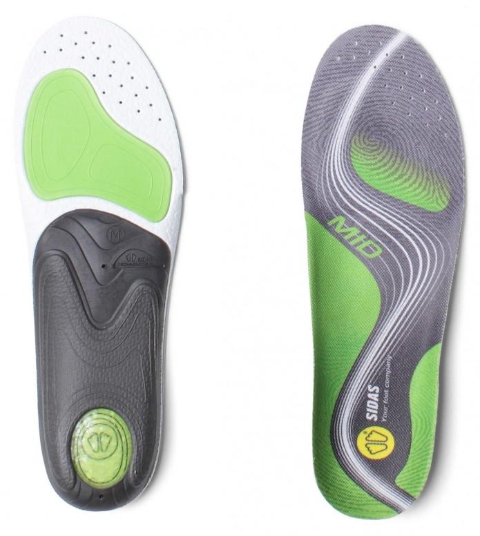 Sidas Insole 3-Feet Activ Mid grey S (37-38)