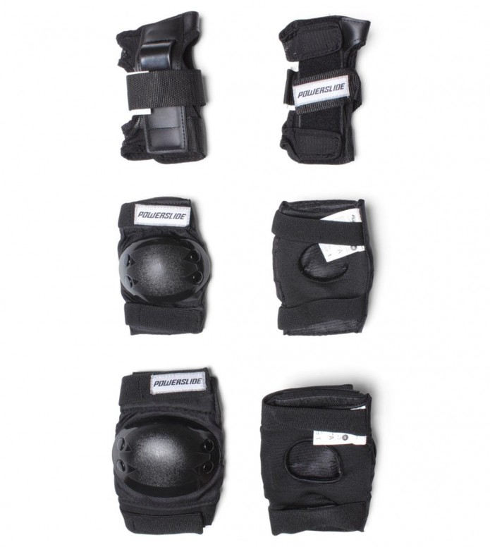 Powerslide Protection Kids Tri-Pack black XS