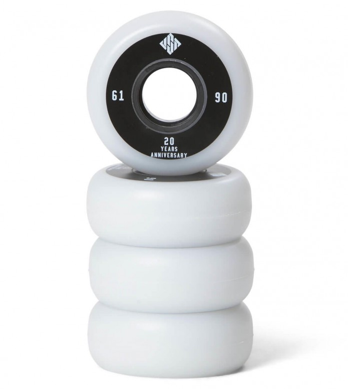 USD Wheels Team 61er white 61mm/90A