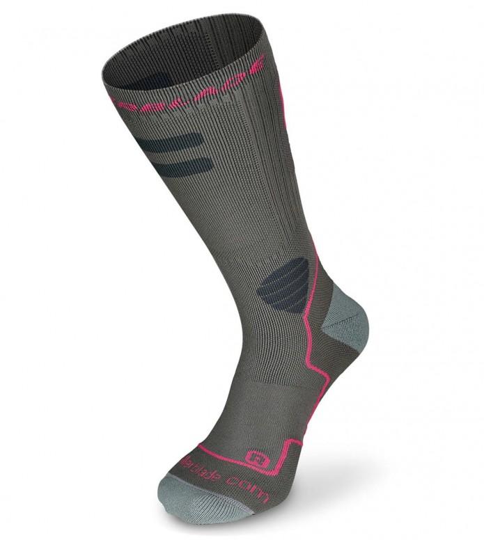 Rollerblade Rollerblade W Socks High Performance grey/pink