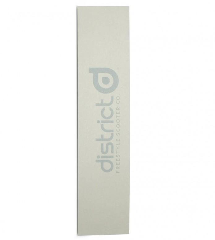 District Griptape Name white 550 x 120mm