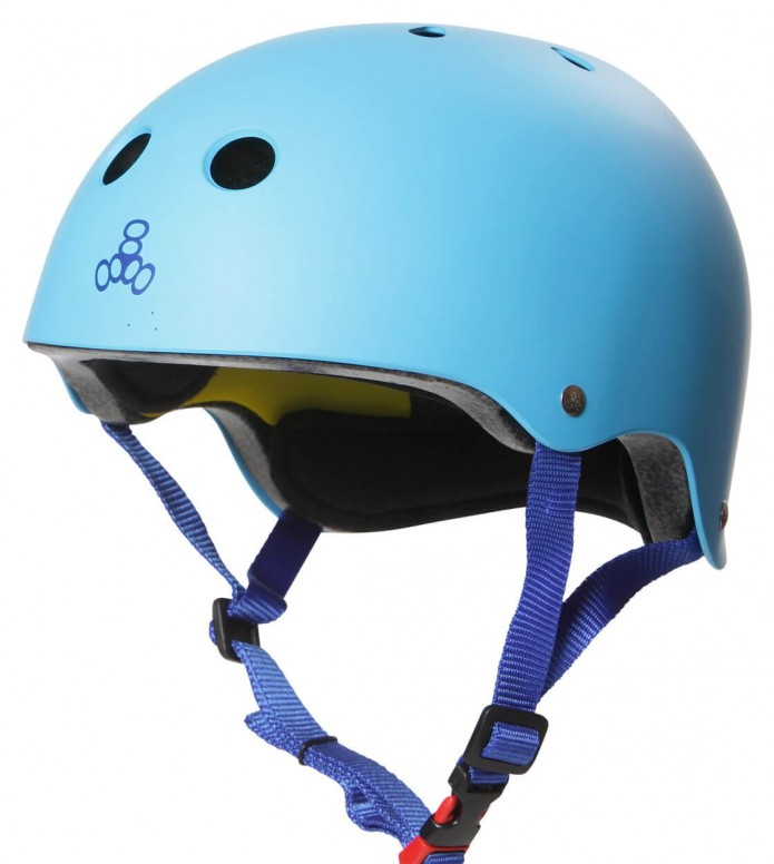 Triple 8 Triple 8 Helmet Certified Mips EPS Liner blue hyper