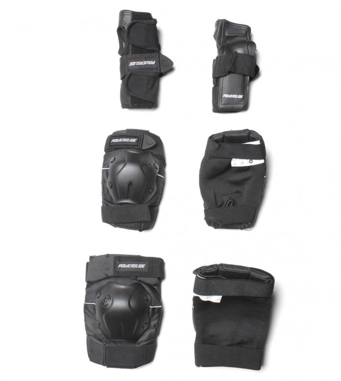 Powerslide Protection Tri-Pack One black S