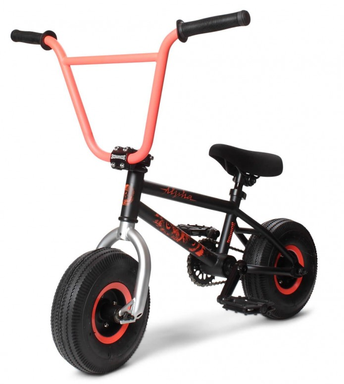 Bounce Bounce Mini BMX Alpha black/orange
