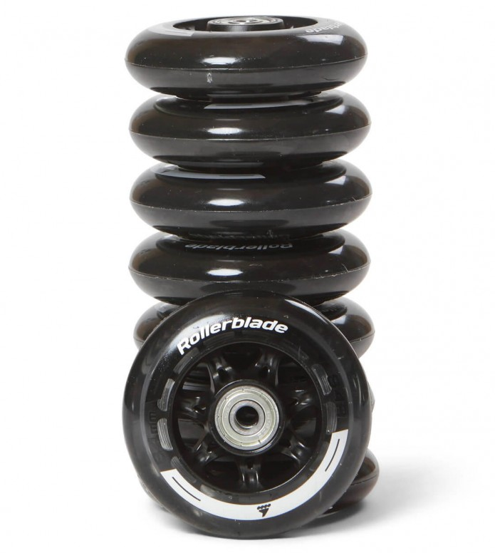 Rollerblade Wheels Performance 84er black/silver