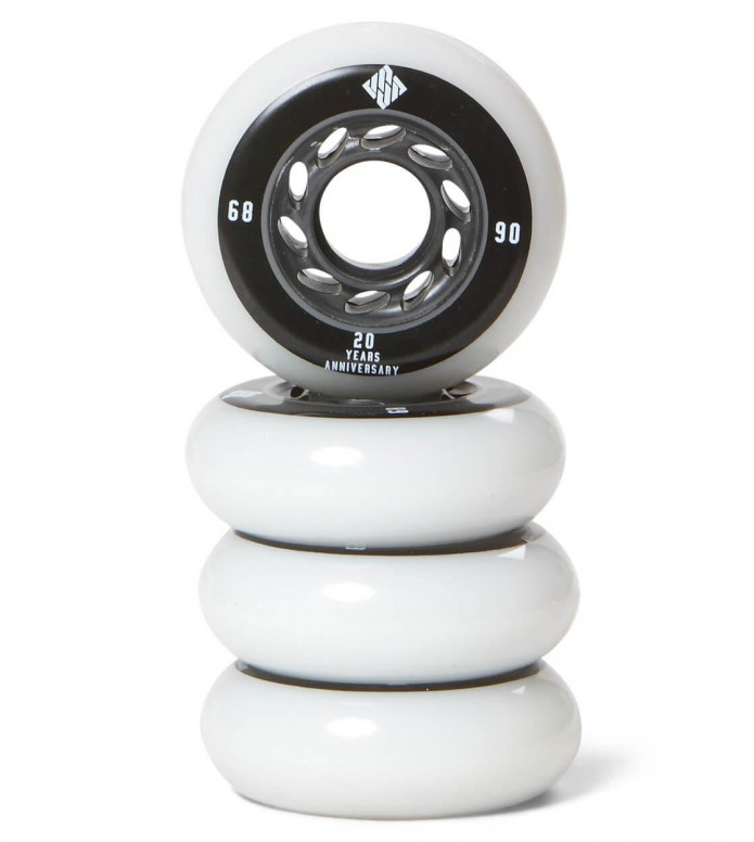 USD Wheels Team 68er white 68mm/90A