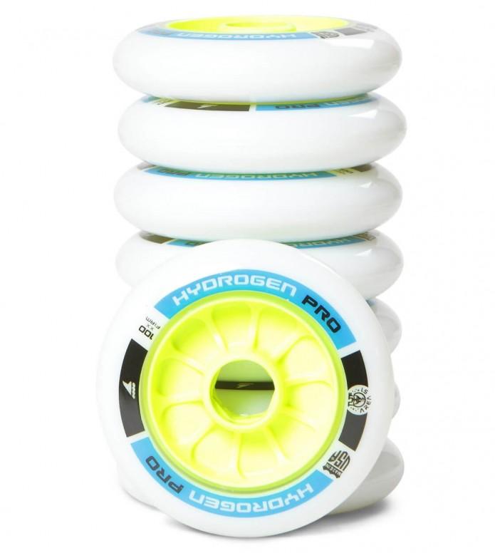 Rollerblade Wheels Hydrogen Pro XX Firm 100er white/yellow 100mm