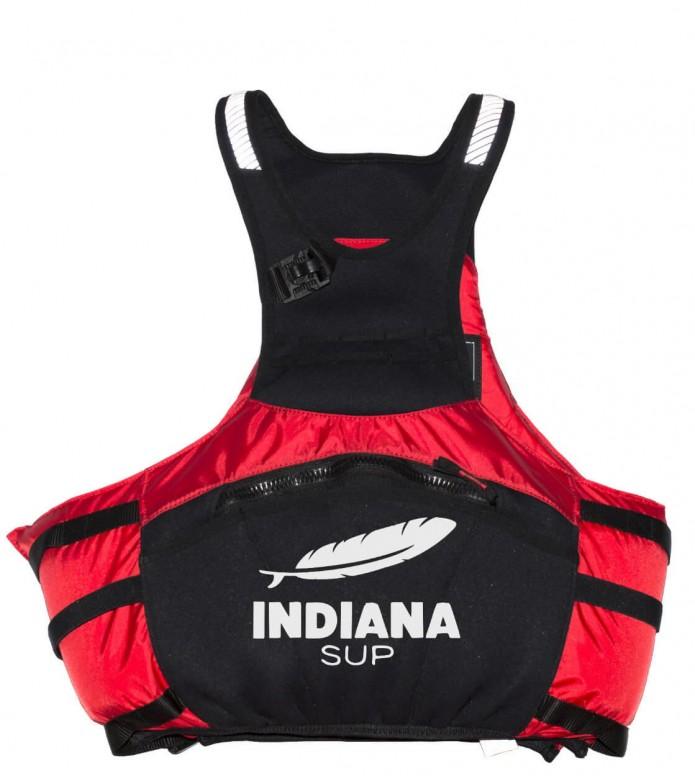 Indiana Schwimmweste Stamina red/black S/M