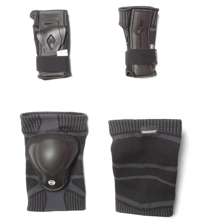 Powerslide Protection Dual Set Onesie black