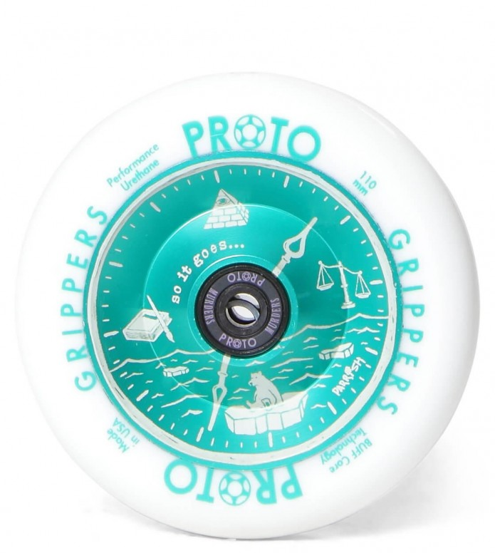 Proto Wheel Gripper Parrish Isaacs 110er white/green mint