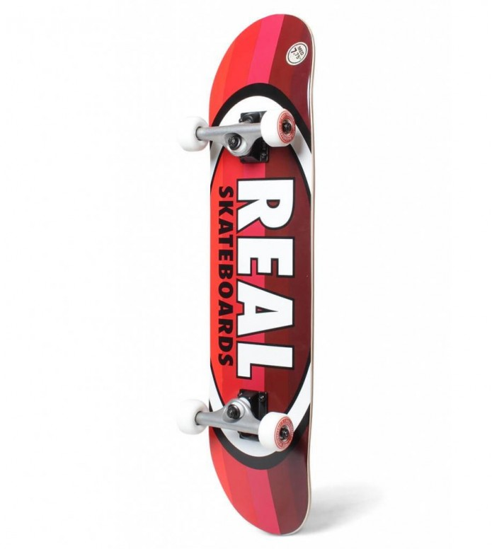 Real Complete Oval Stripes red