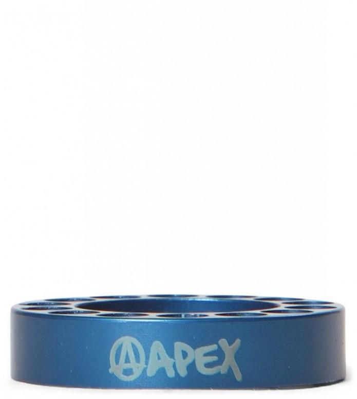 Apex Spacer Bar Riser blue 10mm