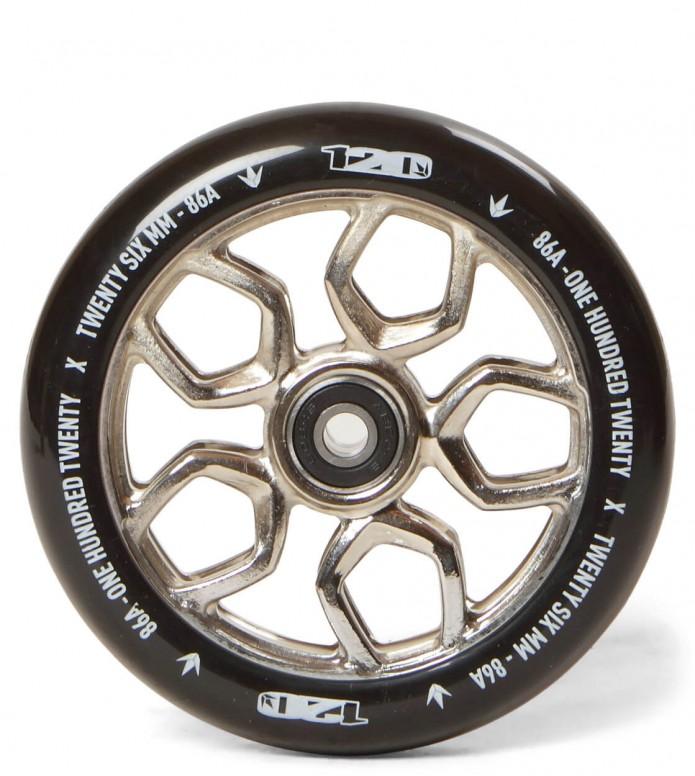 Blunt Wheel Lambo 120er silver/black
